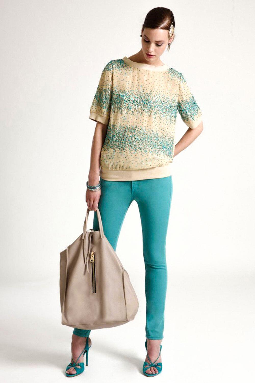 NWT  SISTE'S Italian Designer damen Blouse Top T-shirt Größe M 10 12 Gorgeous