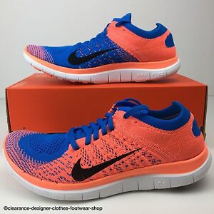 Image is loading NIKE-FREE-FLYKNIT-4-0-TRAINERS-WOMENS-NEW-