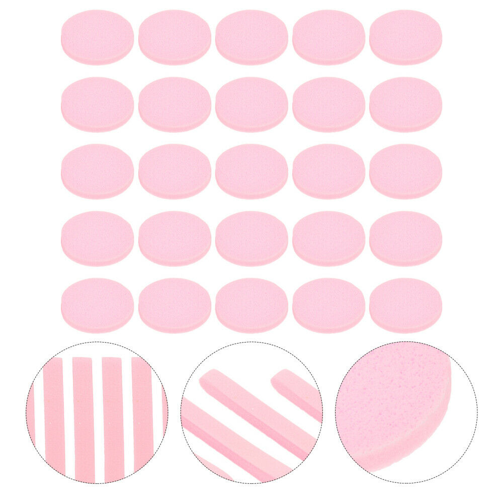 60pcs Compressed Facial Cleaning Wash Puff Sponges Face Cleansing Pads