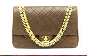f0a8df9e814c Image is loading Chanel-Vintage-Timeless-Classic-Medium-Double-Flap-bag