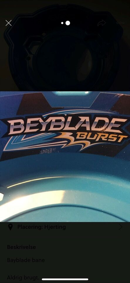 Andet legetøj, Bayblade bane, Bayblade