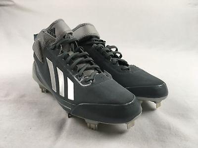 e69a17c15 NEW adidas adizero Sprint Frame - Gray Cleats (Men s 9)