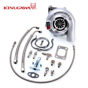Kinugawa-Ball-Bearing-Turbocharger-4-034-Anti-Surge-GTX3076R-60mm-w-73-T3-V-Band