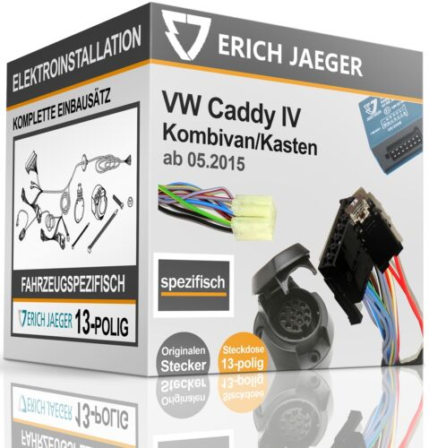 E-SATZ 13-polig FAHRZEUGSPEZIFISCH VW Caddy IV ab 05.2015