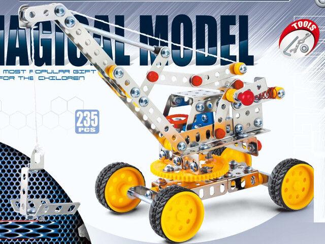 Iron Commander Metal Construction Kit Magical Model - - - Crane - 235 Pcs 262b91