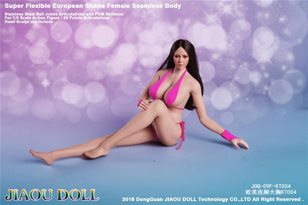 JIAOU DOLL 09F European European European Figure   Undetachable Feet   Big Bust Seamless Body 7c5403