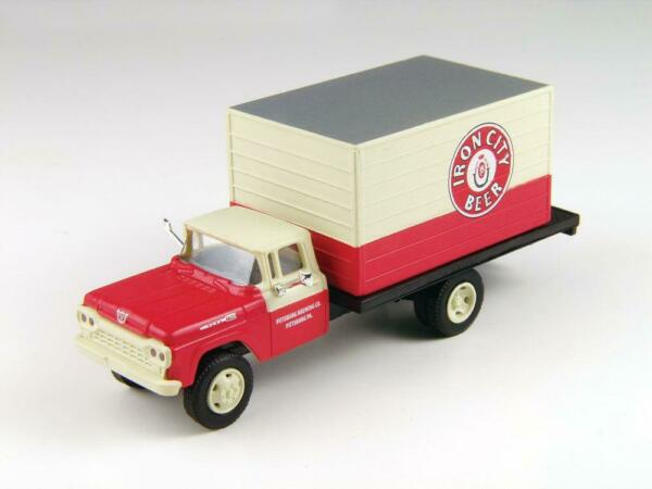HO Scale-Classic Metal Works-30441-1960 Ford Delivery Box Truck-Lone Star Beer