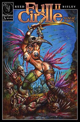 FULL CIRKLE #2 Convention Exclusive Hellblazer Simon Bisley Painted Art *Lobo