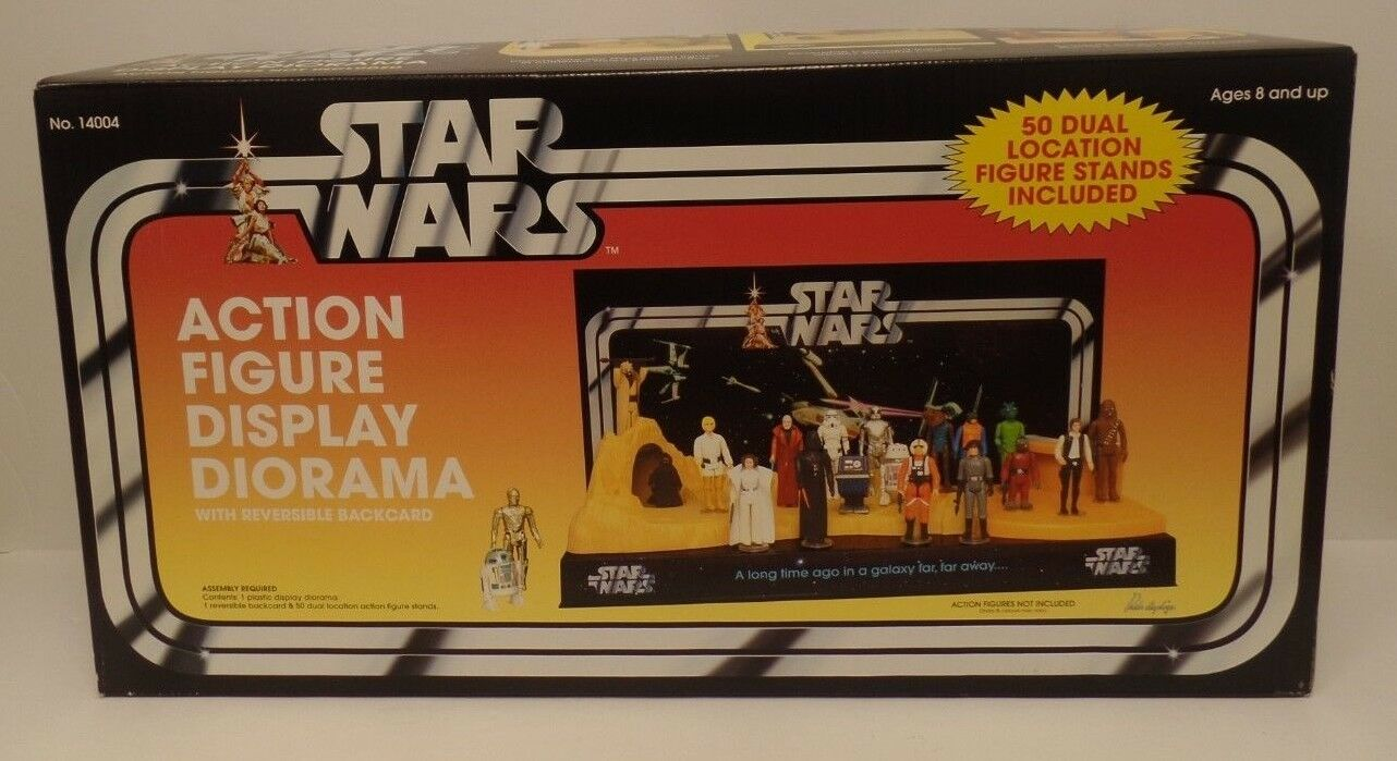 Star Wars A New Hope Action Figure Display Diorama 2005 No.14004 Pride Displays