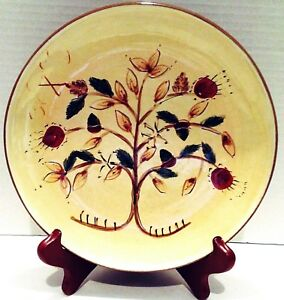 Salad-Plates-Tree-of-Life-by-Pottery-Barn-Set-of-Plates-Dinnerware-Pottery