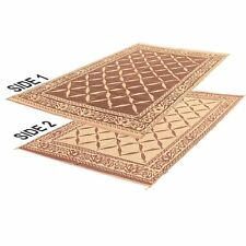 Reversible Camping Carpet Indoor Outdoor Patio Mat Rv Picnic Deck