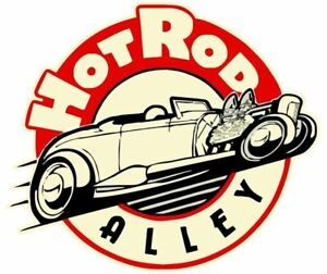2-PACK  RAT ROD HOT ROD  STICKER RAT FINK VINTAGE RACING CHOPPER TOOLS GAS