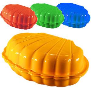 sandkasten deckel planschbecken sandmuschel wassermuschel sandkiste hundebecken ebay. Black Bedroom Furniture Sets. Home Design Ideas