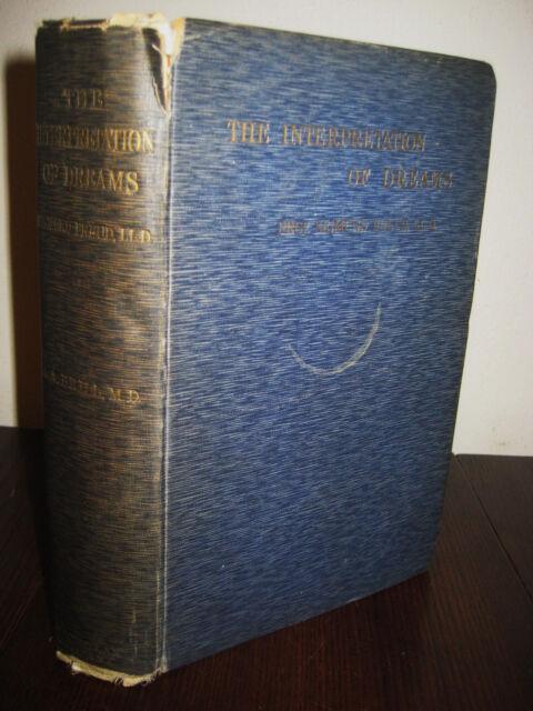 3rd Edition INTERPRETATION OF DREAMS Sigmund Freud PSYCHOLOGY Science CLASSIC