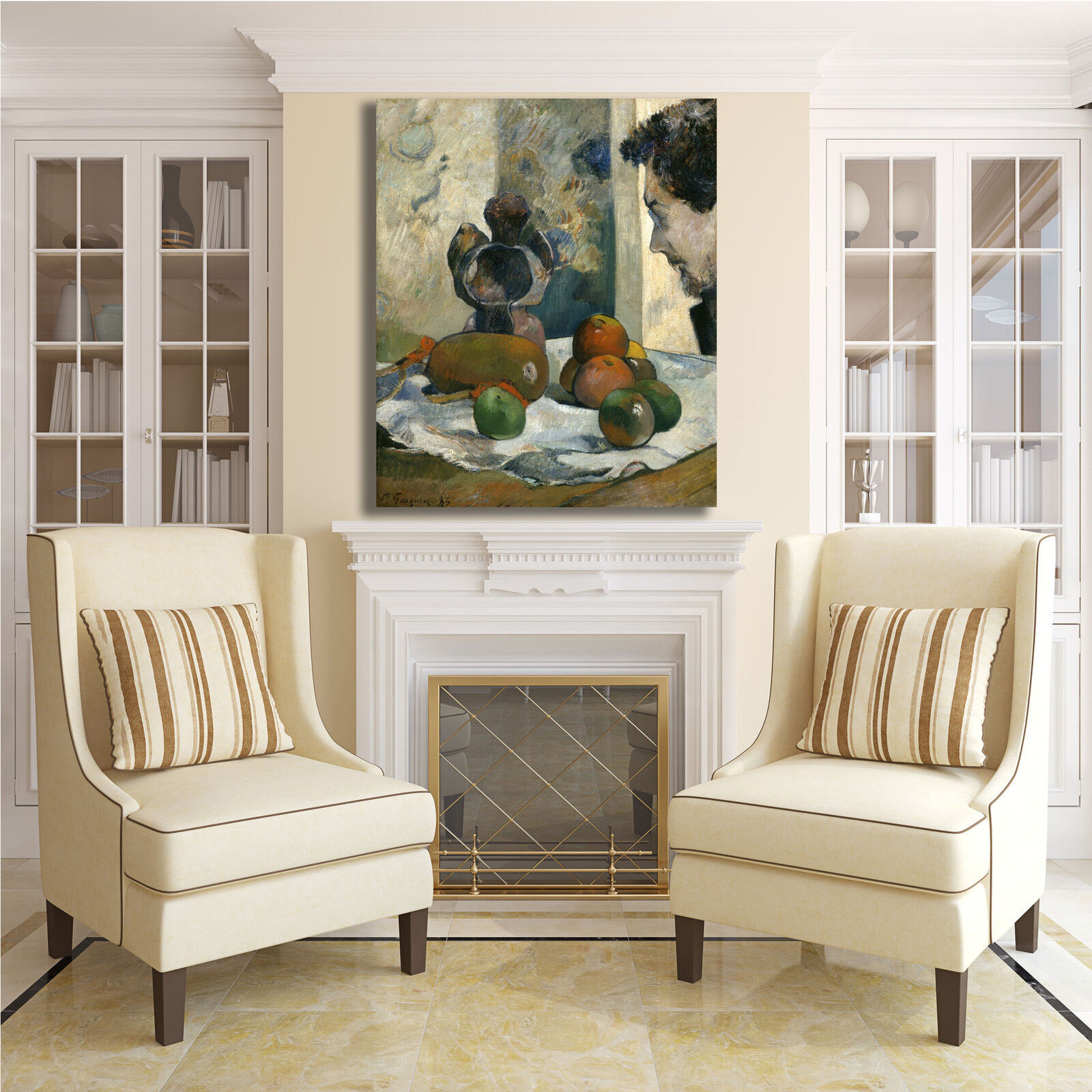 Gauguin natura morta con laval quadro stampa tela dipinto telaio arRouge arRouge telaio o casa c61980
