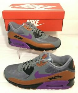 the best attitude 70422 864c3 Image is loading Nike-Air-Max-90-Essential-Cool-Grey-Vivid-