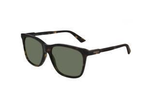 Occhiali-da-Sole-Gucci-Autentici-GG0495S-002-havana-verde