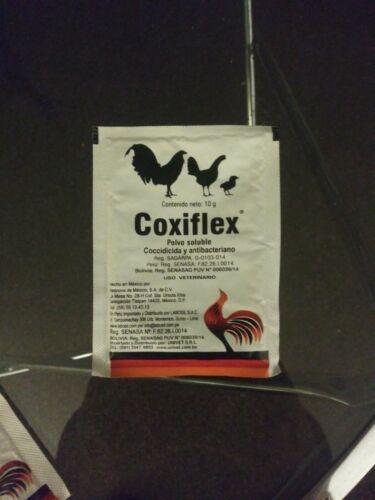 COXIFLEX 10 gram WATER SOLUBLE// Control of coccidia coryza and diarrhea.