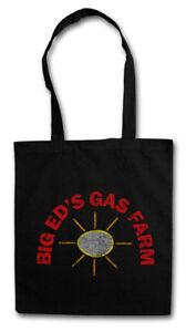 BIG ED'S GAS FARM STOFFTASCHE EINKAUFSTASCHE Twin Peaks petrol gas station Sign