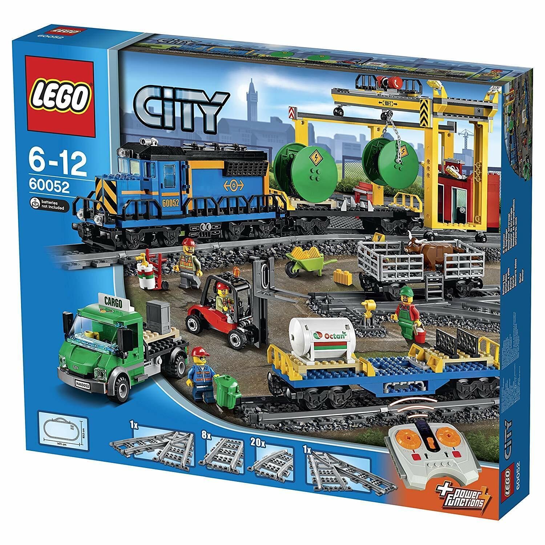 LEGO città 60052 _ Treno merci RC _ energia  divertimentoction _ ferrovia -  NUOVO DA NEGOZIO  fantastica qualità