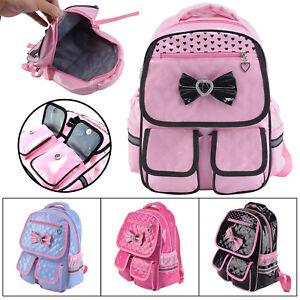 Details About Kids S Bow Backpack School Book Bags Rucksack Waterproof Bag Gift Uk