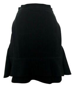 CELINE-BLACK-LAYERED-SKIRT-36-2800