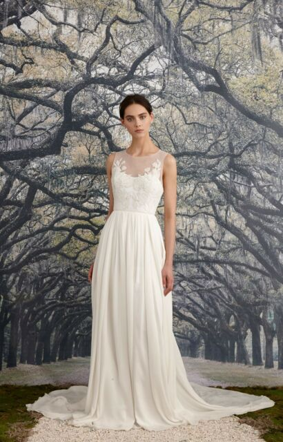 Nicole Miller Savannah Bridal Wedding Gown Ka10002 Sz 4 Nwt 2200