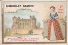 LOUISE DE LORRAINE CHATEAU DE SAUMUR SOUS ROI HENRI III 1900s IMAGE CHROMO
