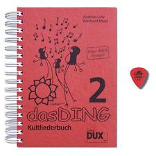 Das Ding 2 mit Noten - Songbook mit Dunlop Plektrum - DUX7777 - 9783868491852