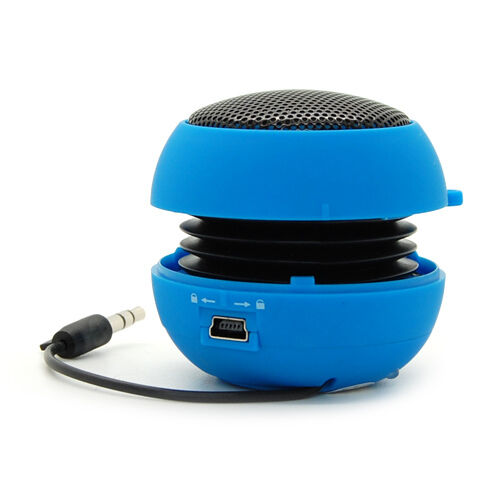 Portable Mini 3.5mm Jack Hamburg Sound Box Loud Speaker For Cell Phone Tablet PC