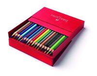 Faber-Castell 112436 Atelierbox mit 36 Colour GRIP 2001 Farbstiften sortiert
