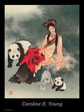 "Caroline Young ""Pandas of Wolong"" Poster"