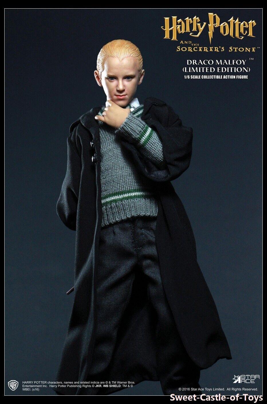 1 6 Star Ace Toys Harry Potter and the Sorcerer's Stone Drago Malefoy Uniform Ver