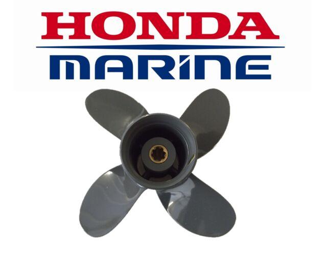 """Honda Aluminium Outboard Propeller 8/9.9/10/15/20hp (9.25 x 11"""" 4 Blade)"""