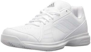 cb1d6ddb167 Image is loading Adidas-Men-039-s-Approach-White-Tennis-Shoes-