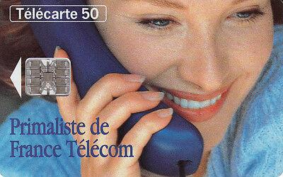 Enthousiast France Télécarte 50 Primaliste De France Télécom Verkoopprijs