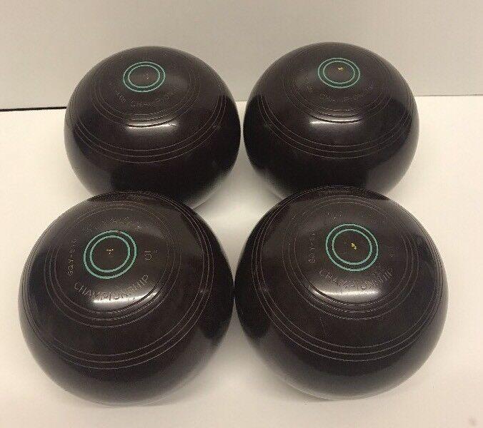 "Henselite Championship Super-Grip Set Of 4 Bowls GQY-570  5"""