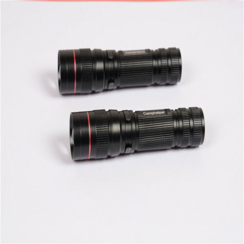 Mini LED Tactical Flashlight Ultra Bright with 3 Light Modes Handheld NEW AY