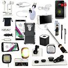 Case+Selfie Monopod+Wireless Speaker+Camera Lens Accessory Bundle For LG G5