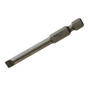 2.5mm x 70mm 10 pieces Wiha 74033 Slotted Power Bit