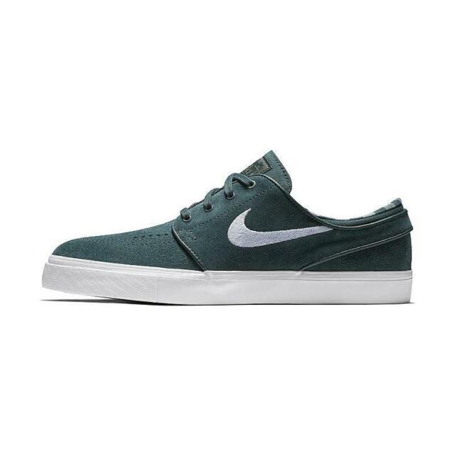 Nike SB Zoom Stefan Janoski Deep Jungle Clay Green 333824 311 Men's Skate Shoes