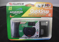 2 Fujifilm 24mm Advanced Photo System Quicksnap One-time Use Camera