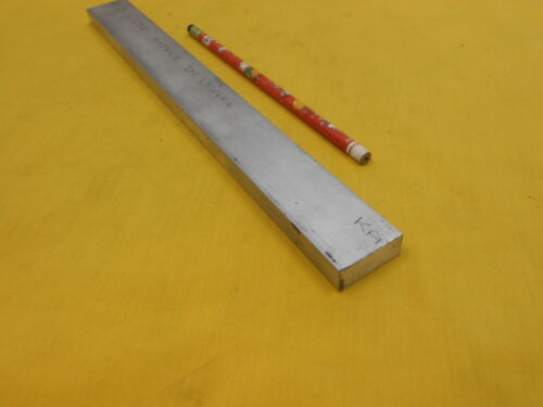 "6061 ALUMINUM FLAT BAR STOCK machine shop material 1//2/"" x 1 1//4/"" x 12/"""