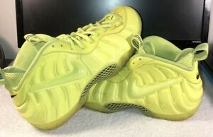 1148a54e2e3 NIKE FOAMPOSITE PRO VOLT BASKETBALL SHOES MENS SIZE 11.5 NEON YELLOW ...