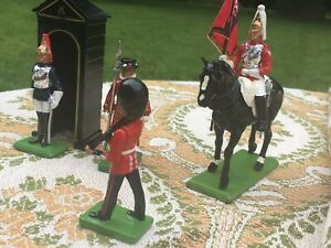 Britain-Collection-The-London-Scene-Metal-Toy-Soldiers-Horse-Guard-1988-Vintage