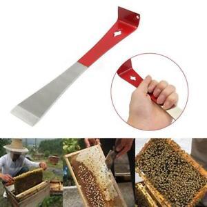 Beekeeping Stainless Steel J Shape Curved Tail Bee Hive Hook Scraper
