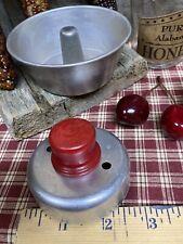Vtg Metal Biscuit Donut Cutter Farmhouse Kitchen Baking Fun Display Prop Bcr2