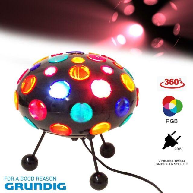 Luci Da Discoteca Fai Da Te.Grundig Lampada 72795 Disco Light Luce Da Discoteca Ufo Acquisti
