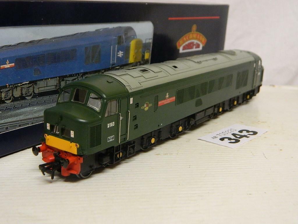 Bachuomon OO BR verde classe 46 Diesel Loco L&D Yeouomory D163 32700