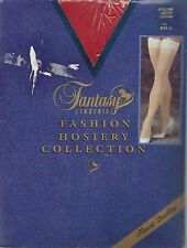 Stockings (Fantasy Lingerie) Size B (Red in color) New (Lace Top) #1006